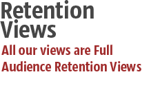YouTube Full Audience Retention Views